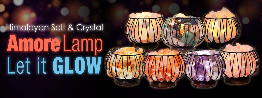 Amore Lamp Banner   Himalayan Salt Factory