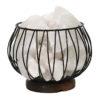 White Himalayan Salt Chunks Amore Lamp (12V - 12W)   Himalayan Salt Factory