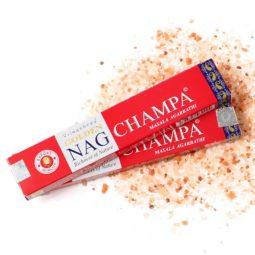 Golden Nag Masala Incense - Champa   Himalayan Salt Factory