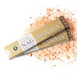 Golden Nag Masala Incense - Chandan   Himalayan Salt Factory