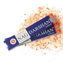 Golden Nag Masala Incense - Darshan   Himalayan Salt Factory