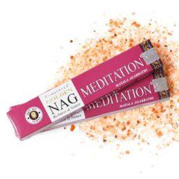 Golden Nag Masala Incense - Meditation   Himalayan Salt Factory