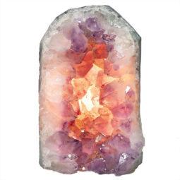Natural Amethyst Crystal Lamp DN324   Himalayan Salt Factory