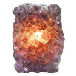 Natural Amethyst Crystal Lamp DN328   Himalayan Salt Factory