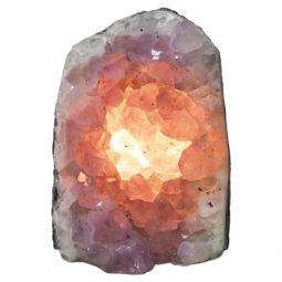 Natural Amethyst Crystal Lamp DN330   Himalayan Salt Factory