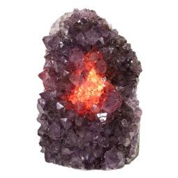 Natural Amethyst Crystal Lamp DS860   Himalayan Salt Factory