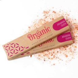 Song of India Organic Goodness Masala Incense - Arabian Oudh   Himalayan Salt Factory