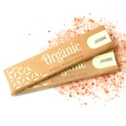 Song of India Organic Goodness Masala Incense - Jasmine   Himalayan Salt Factory