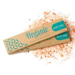 Song of India Organic Goodness Masala Incense - White Sage   Himalayan Salt Factory