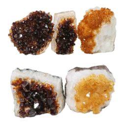 Citrine Mini Cluster Specimen Set N638 | Himalayan Salt Factory