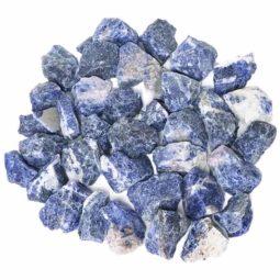 1kg Sodalite Chips Parcel   Himalayan Salt Factory