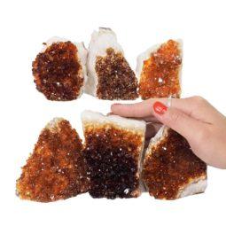 Citrine Mini Cluster Specimen Set N671 | Himalayan Salt Factory