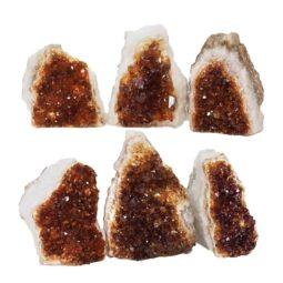 Citrine Mini Cluster Specimen Set N674 | Himalayan Salt Factory