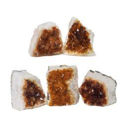 Citrine Mini Cluster Specimen Set N677 | Himalayan Salt Factory