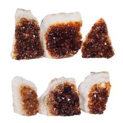 Citrine Mini Cluster Specimen Set N682 | Himalayan Salt Factory