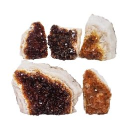 Citrine Mini Cluster Specimen Set N683 | Himalayan Salt Factory